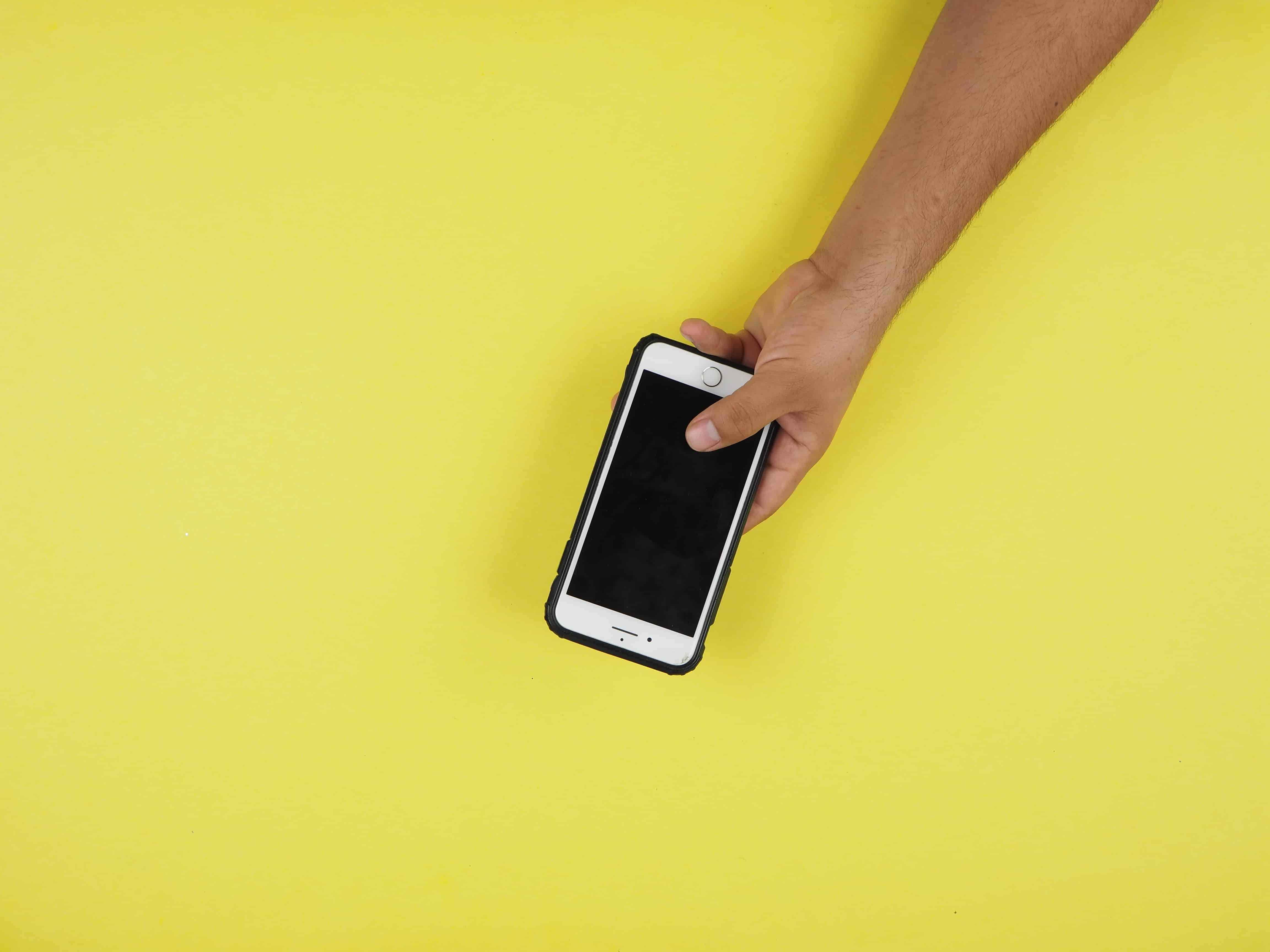 Smartphones are easy recording devices for anthropological interviews