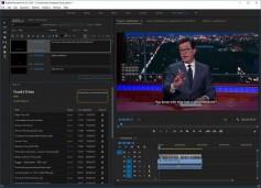 Trint Editor with Stephen Colbert