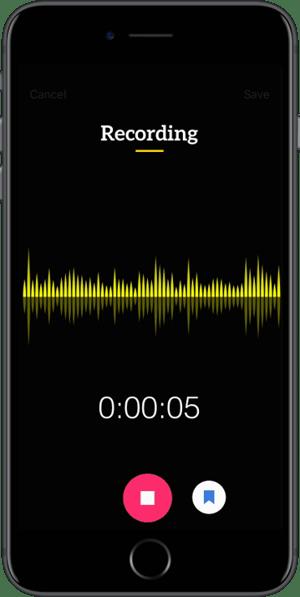 Trint Transcription App for iPhone