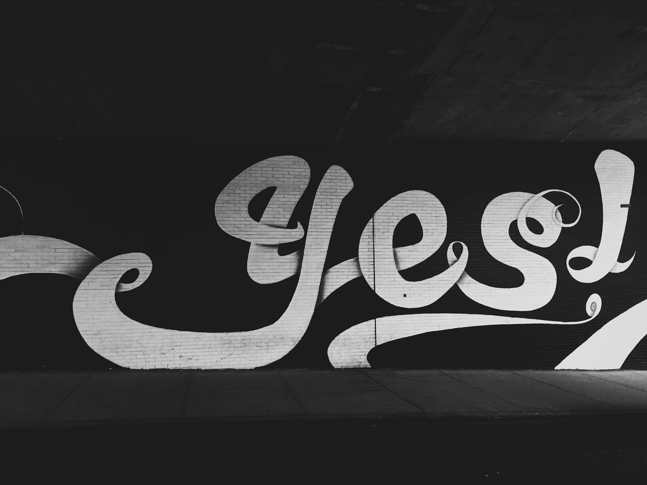 Use the word yes in the first line of your marketing video