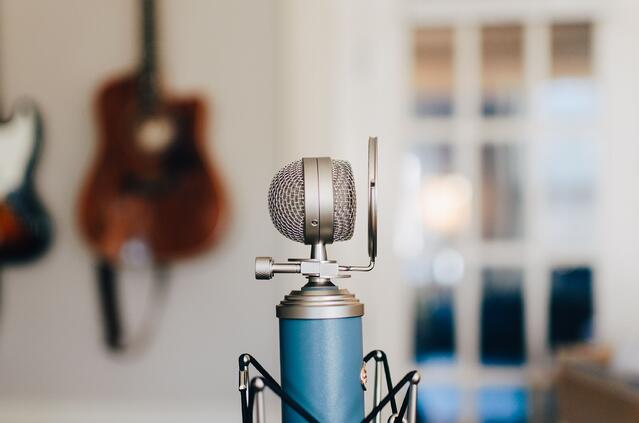 Use enhanced audio equipment to boost the quality of your podcast transcription